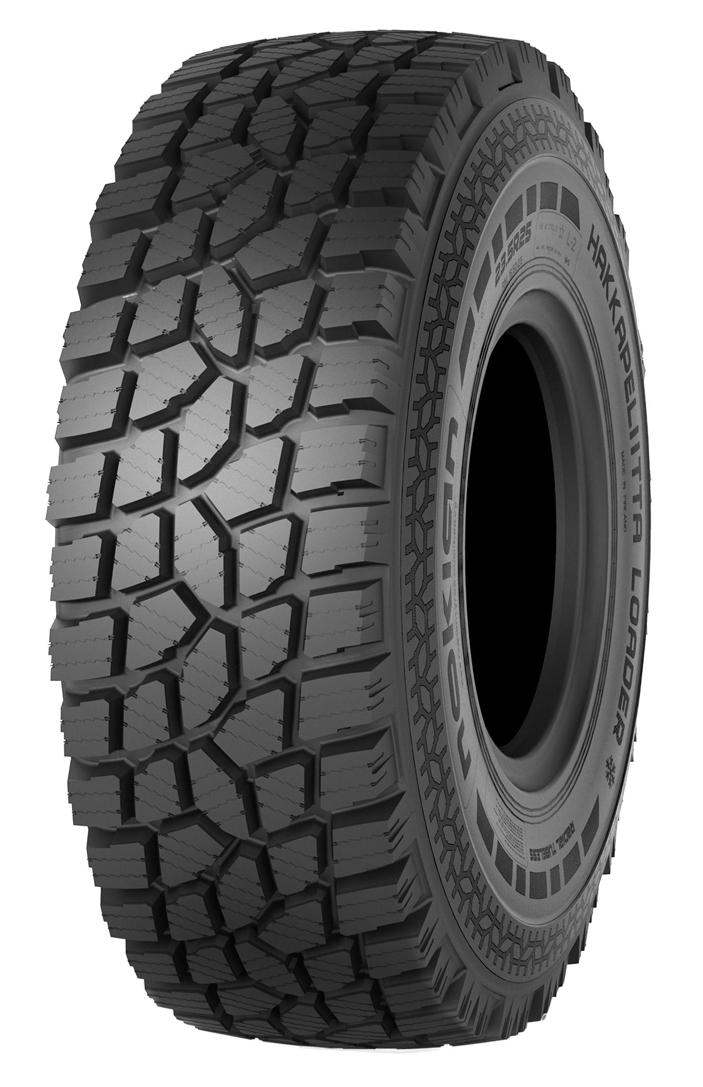 New Tire Tread Depth >> Nokian Hakkapeliitta Loader / Nokian Heavy Tyres