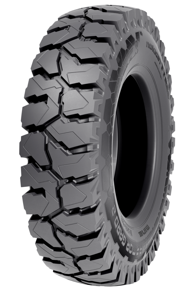 Nokian Armor Gard 2 Mine - <p>Strong tire for drill rigs with mining compound and improved, wider tread</p>
