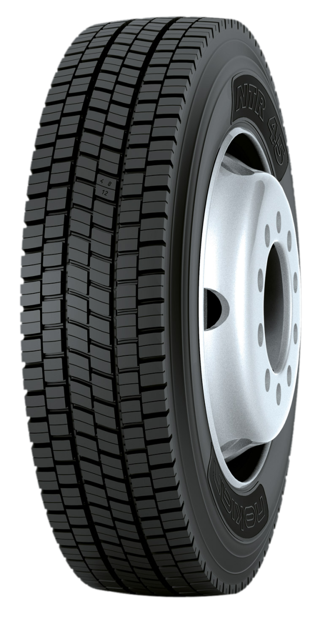 """Nokian NTR 45 17.5"""" - Drive axle tire for delivery trucks and city buses"""