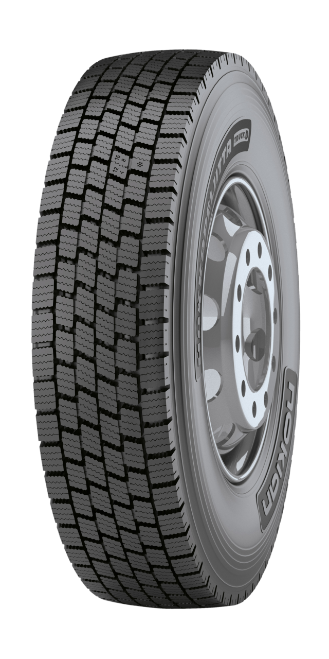 Nokian Hakkapeliitta Truck D - Superior grip and stability in the long haul