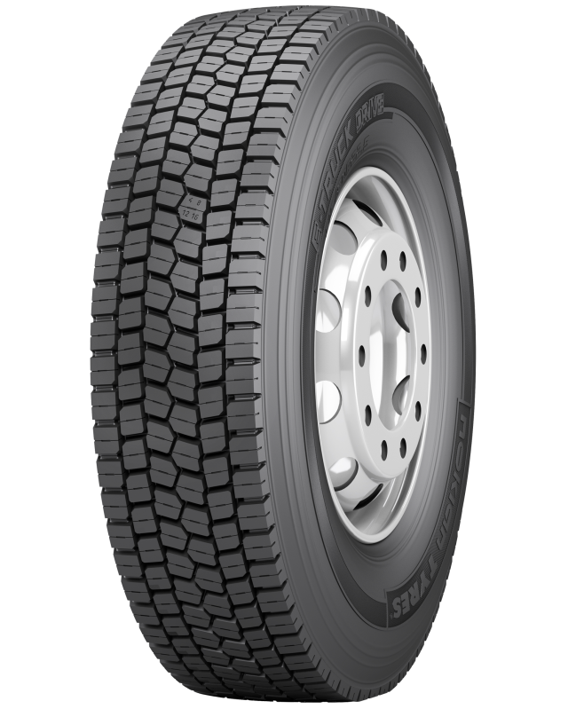 Nokian E-Truck Drive - Reliable all-season tyres for medium and regional haul transport.