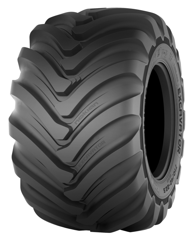 Nokian Excavator - Excavator tire for soft surfaces