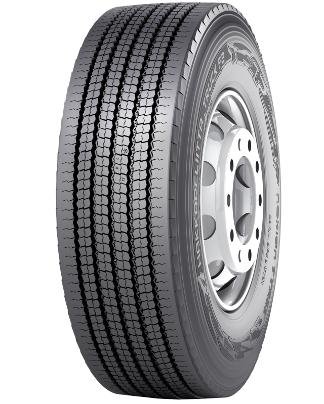Nokian Hakkapeliitta Truck F2 - Steering axle tire for demanding winter conditions