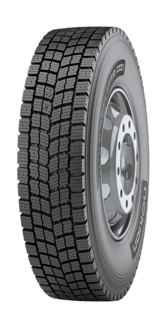 Nokian Hakkapeliitta Truck E - First-class winter traction tire for heavy-duty vehicles in extreme conditions
