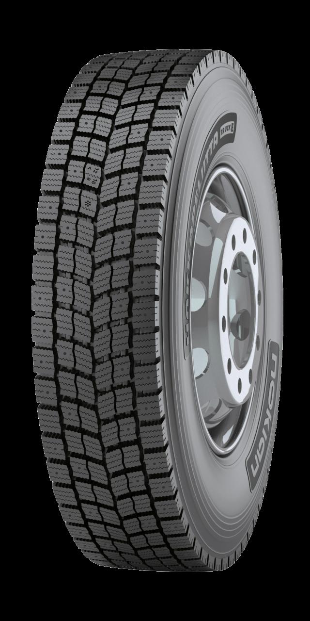Nokian Hakkapeliitta Truck E - Ensiluokkainen talvivetorengas raskaisiin ajoneuvoihin ja ääriolosuhteisiin