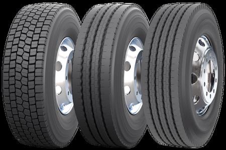 Nokian E-Truck 17.5 and 19.5 families - <p>Gamme de pneus pour la circulation régionale et urbaine tout au long de l'année</p>