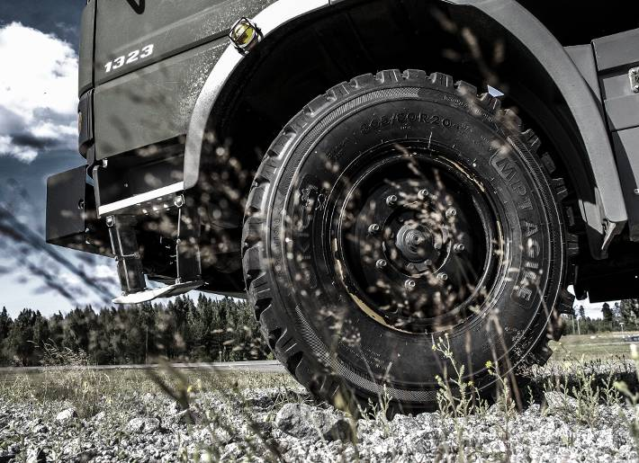 All-terrain trucks and military vehicles