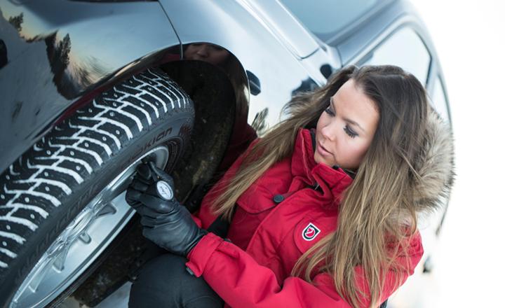 Проверьте давление в шинах