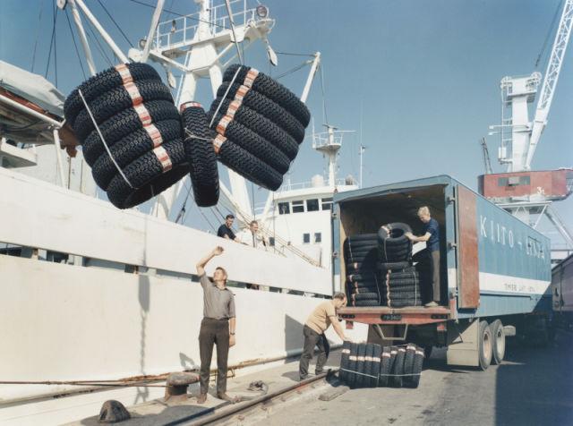 Встречай, Европа. Первая международная доставка шин в Балтийские страны.