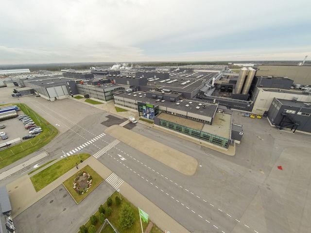 Заводы в России и Финляндии работают посменно. Суммарный объем их производства составляет более 20 миллионов шин в год.
