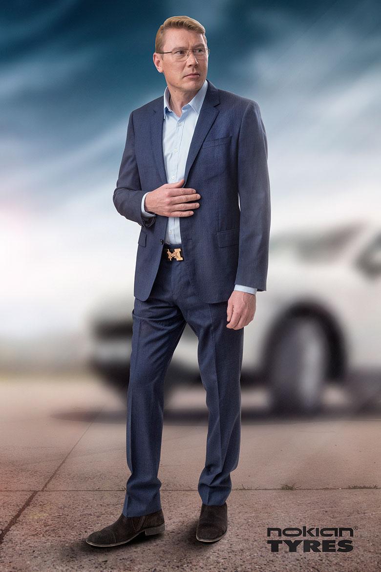 Nokian Tyres inleder samarbete med Formel 1-stjärnan Mika Häkkinen